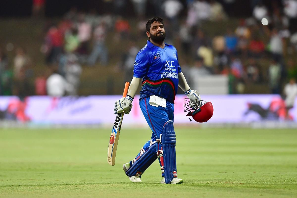Afghanistan's wicketkeeper-batsman Mohammad Shahzad. AFP File Photo