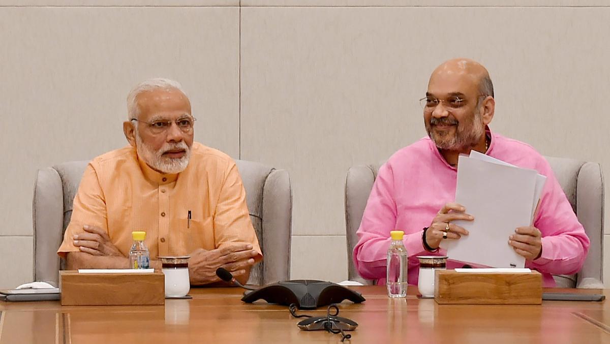 Prime Minister Narendra Modi and BJP president Amit Shah. PTI file photo