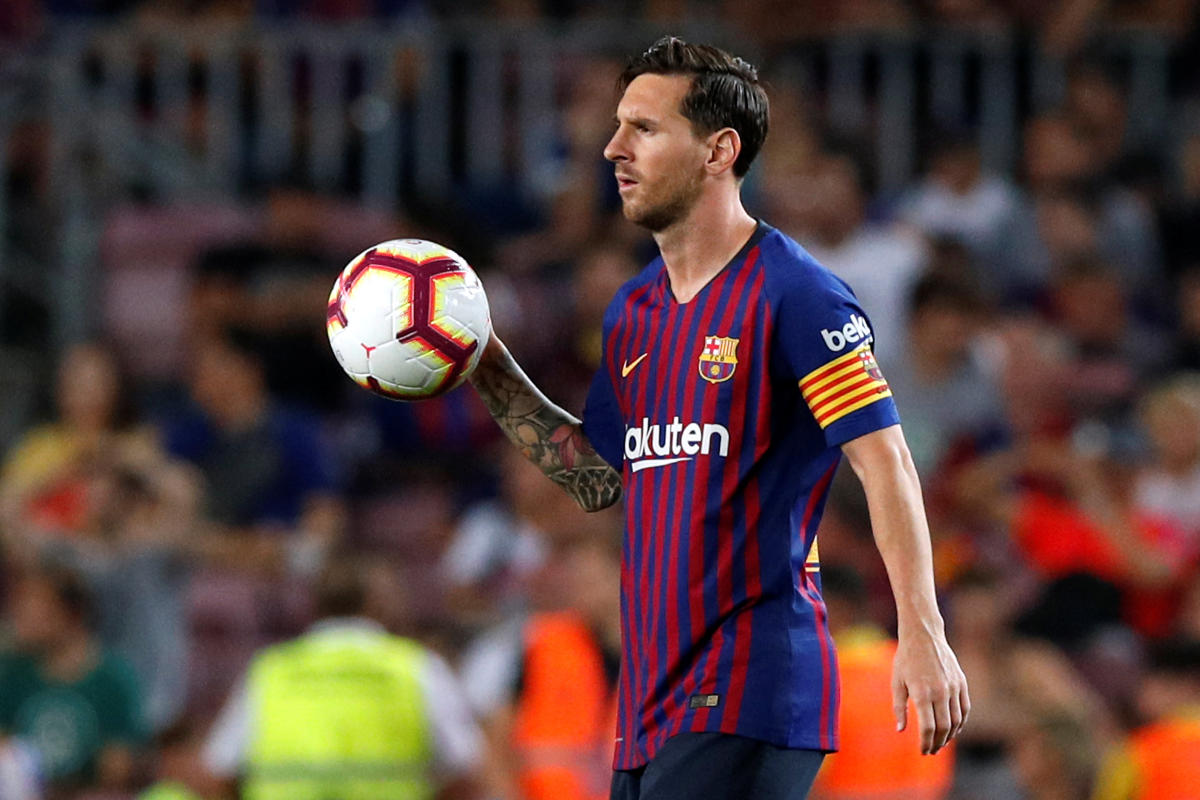 Lionel Messi. (Reuters File Photo/Albert Gea)