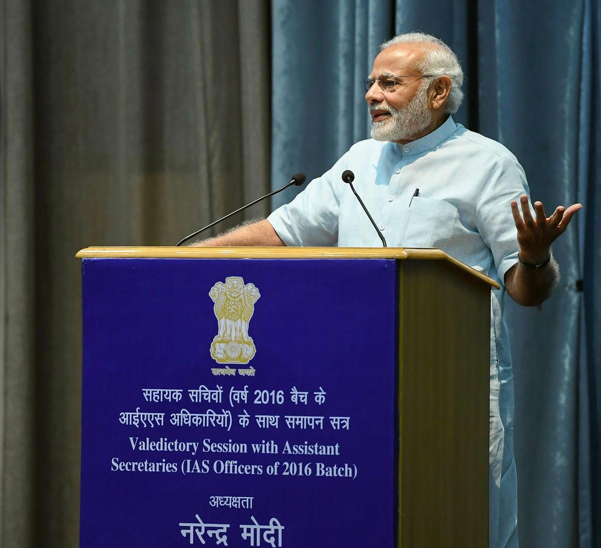Prime Minister Narendra Modi. (PIB Photo via PTI)