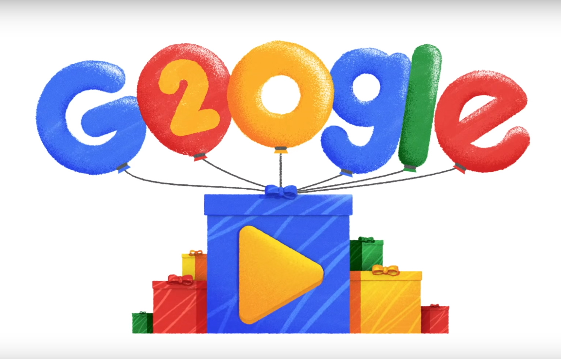 Google's doodle creativity knows no bounds
