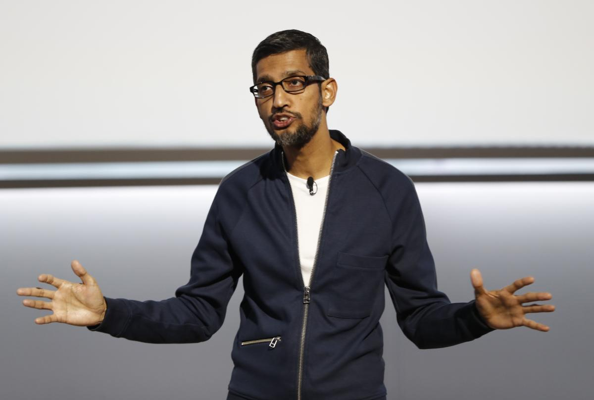 Pichai made the rounds in Washington just a few weeks after he and his boss, Google co-founder Larry Page, irked lawmakers by skipping a public hearing. (Reuters file photo)