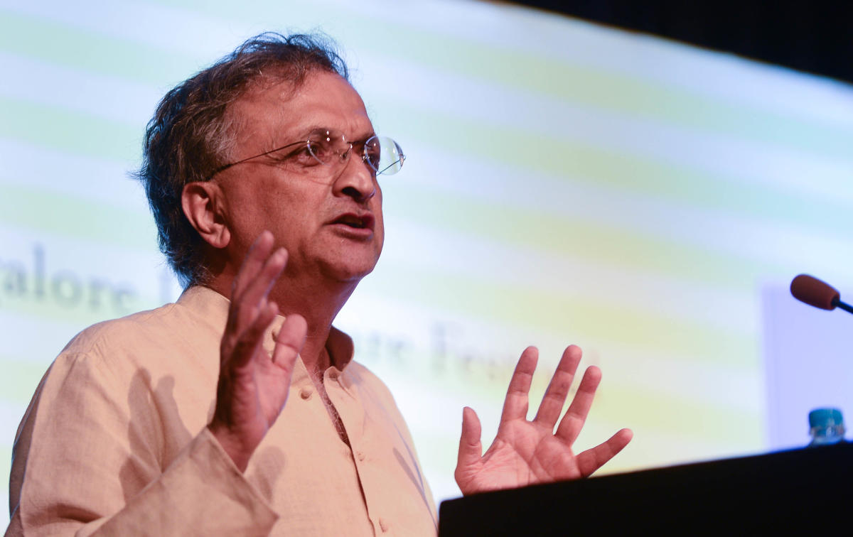 Historian Ramachandra Guha.(DH file photo)