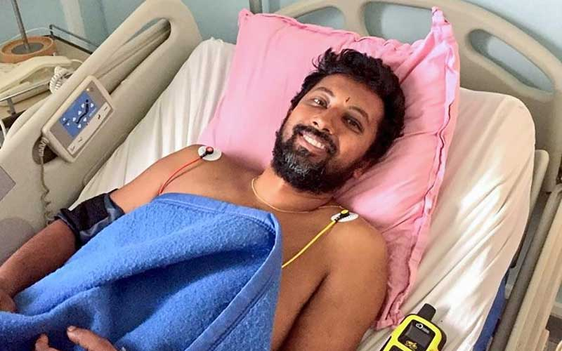 39-year-old naval officer Abhilash Tomy, who was rescued from international waters earlier this week after his yacht was damaged, undergoes treatment in a remote Indian Ocean island, Ile Amsterdam. (Navy Handout Photo via PTI)