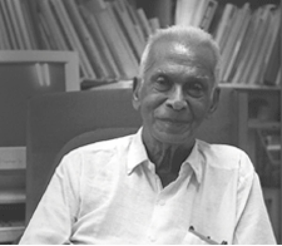 Dr G Venkataswamy, the founder of Aravind Eye Hospitals. (pic www.aravind.org)