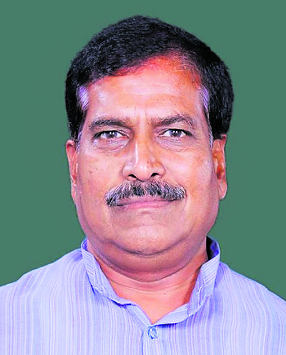 MP Suresh Angadi. DH file photo.