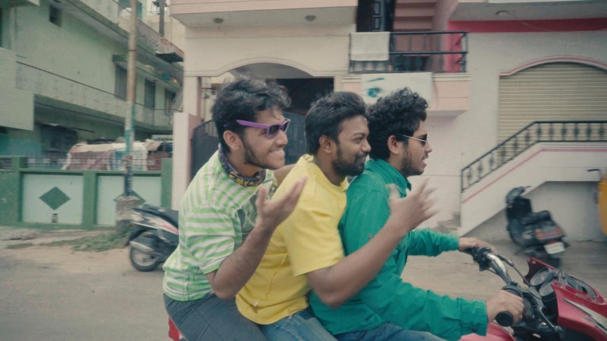 A still from 'Bhootha Missing', a short film which showcases the flex problem in a funny manner.
