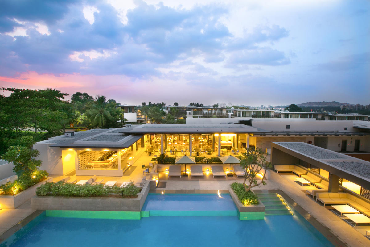 The club has facilities like a swimming pool, guest suites and a sports arena.