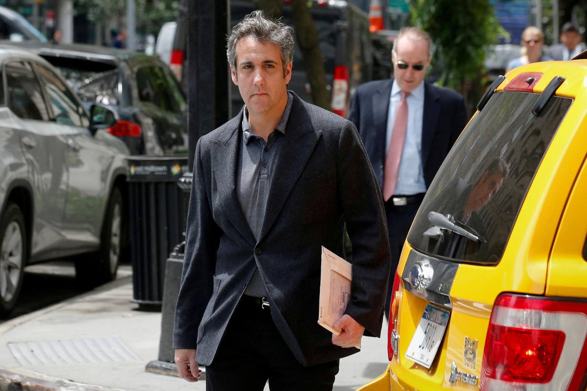Michael Cohen, Donald Trump's former personal lawyer. (Reuters File Photo)