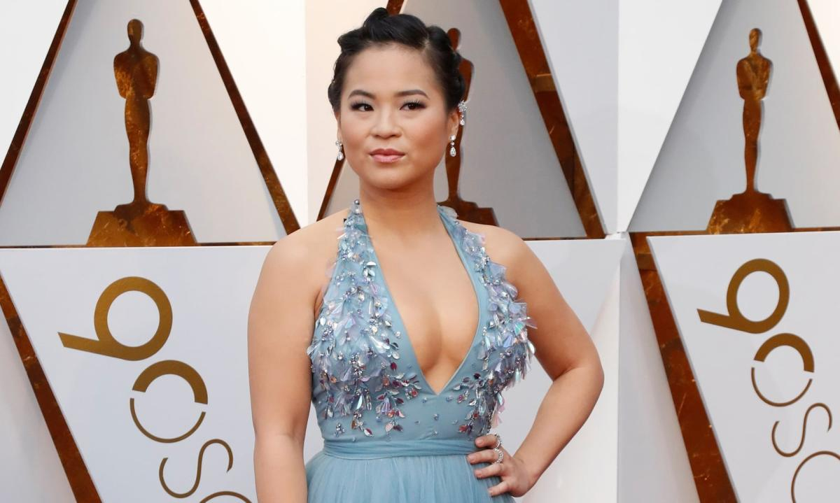 Kelly Marie Tran at the Oscars in 2018. Reuters