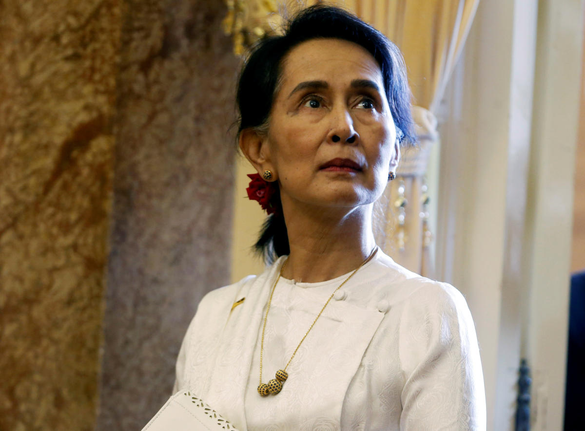 Myanmar's State Counsellor Aung San Suu Kyi. (REUTERS File Photo)