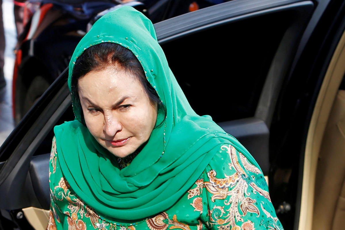 Rosmah Mansor, wife of Malaysia's former Prime Minister Najib Razak. Reuters file photo