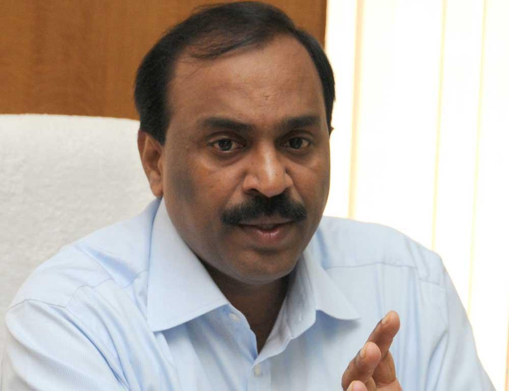 Former minister G Janardhana Reddy. (DH File Photo)