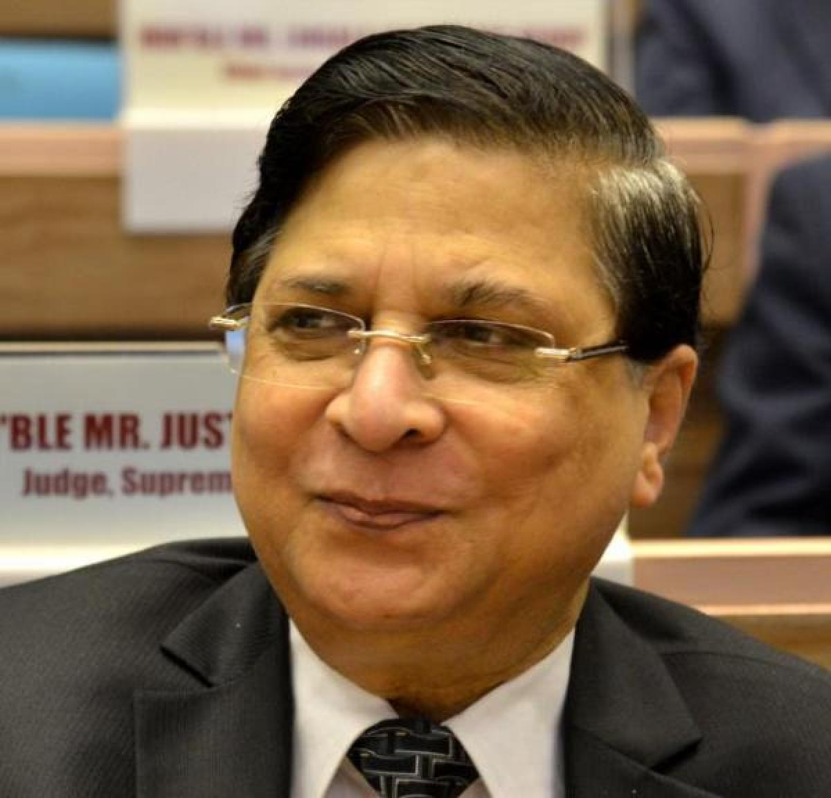 Former Chief Justice of India Dipak Misra. DH File Photo