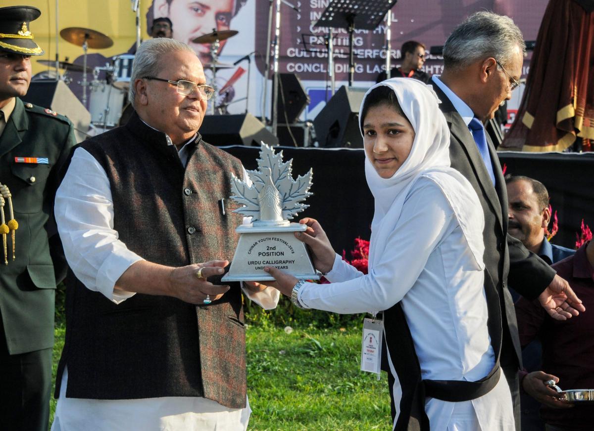 Jammu and Kashmir Governor Satya Pal Malik on Friday spoke to Uttar Pradesh Chief Minister, Yogi Adityanath regarding the manhandling of a Kashmiri student at Sharda University in Greater Noida
