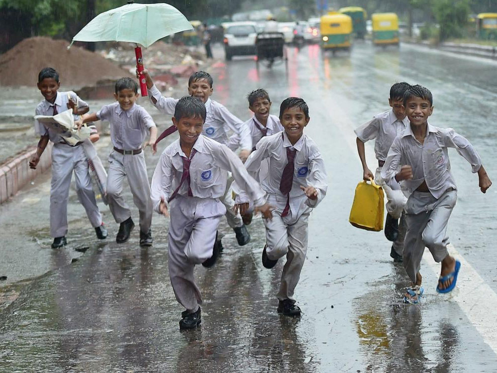 A recent suggestion from the Union ministry says that the syllabi of school students must be cut down so that they can concentrate on the sports scene. (PTI File Photo. For representation purpose)