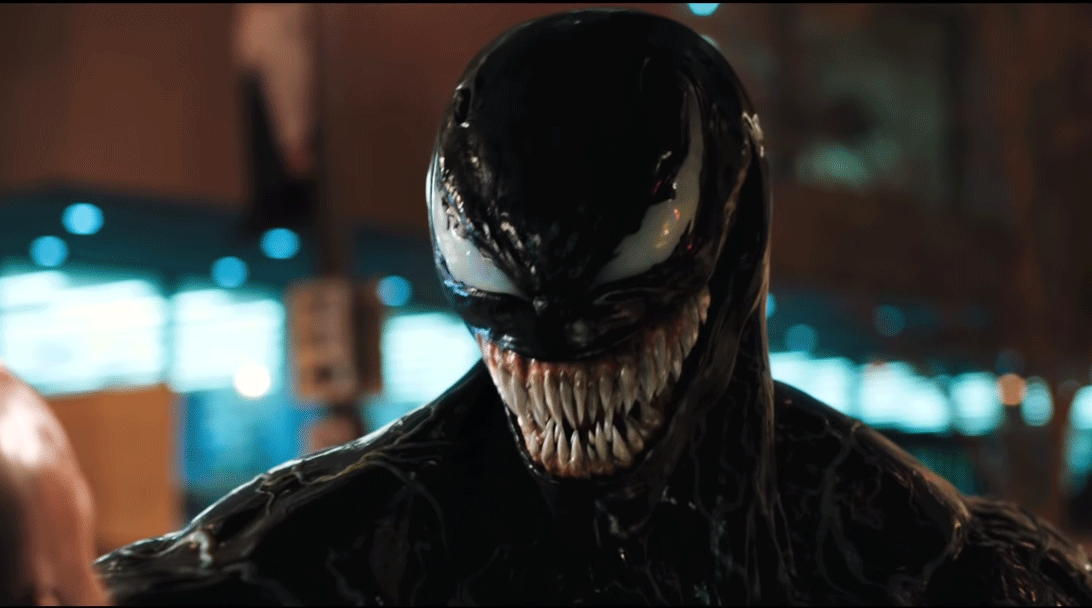 Lack of the white Spider logo aside, Venom's design is a near 1:1 faithful adaptation to the big screen. It's too bad that's pretty much the only lesson Sony learnt after Spider-Man 3, though.