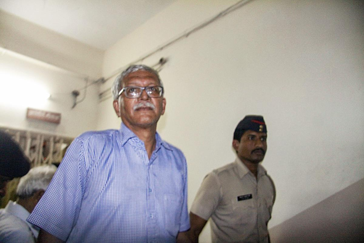 Activist Vernon Gonsalves. PTI File Photo