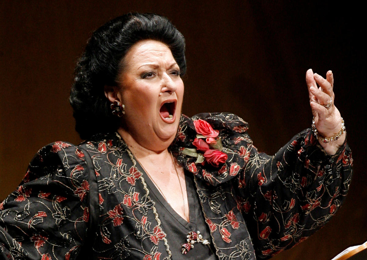 Montserrat Caballe performs during in Santander, Spain, on December 9, 2006. Reuters File