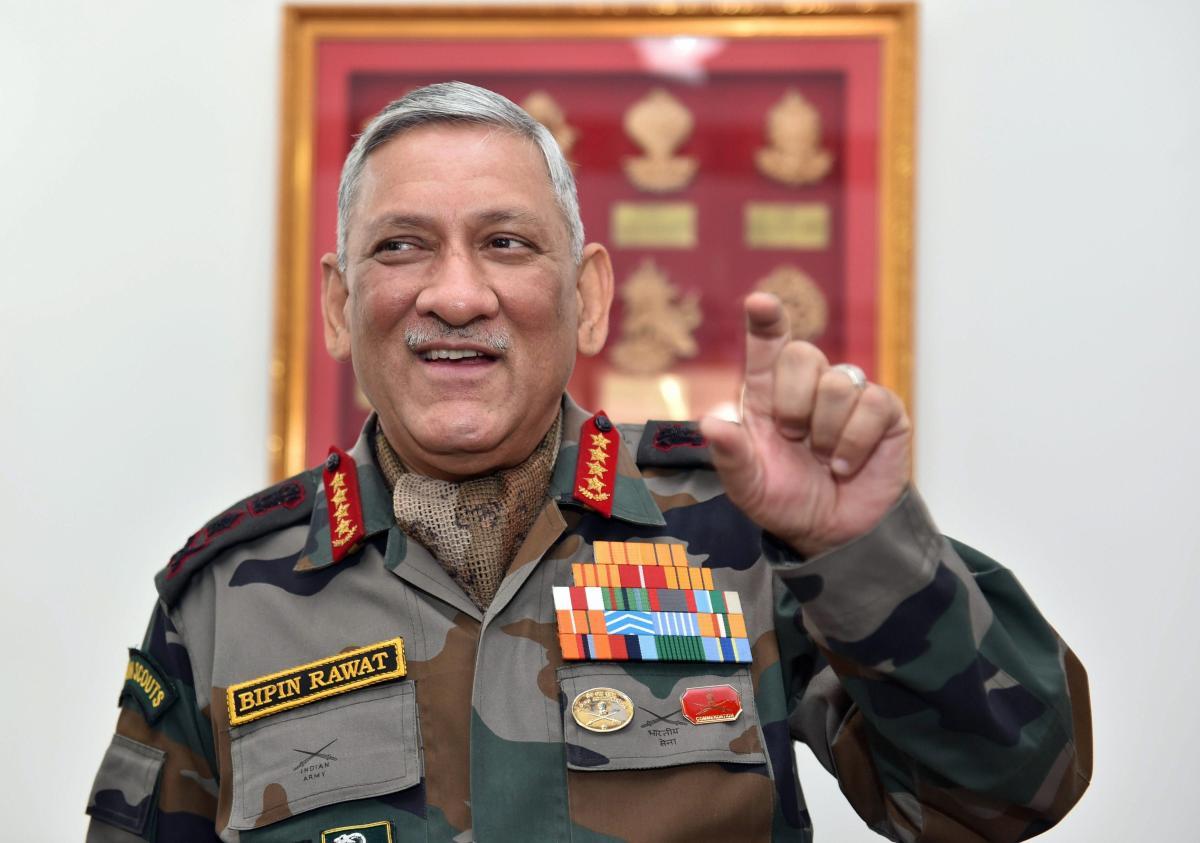 Army Chief Gen Bipin Rawat. (PTI File Photo)