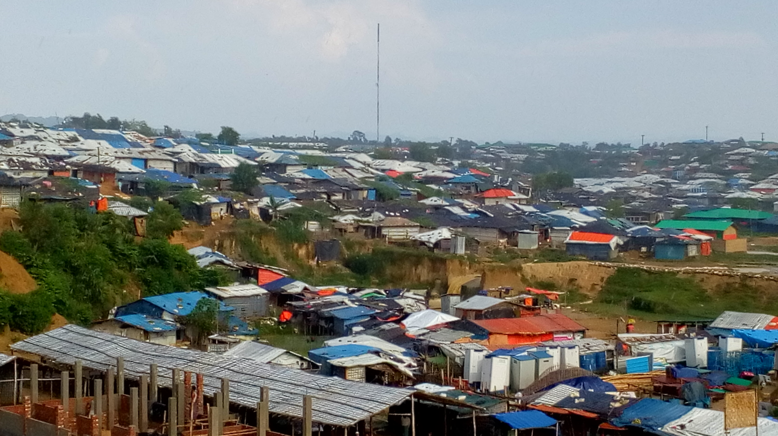 Kutapalong Rohingya camp near Cox's Bazar. (DH Photo/Kalyan Ray)