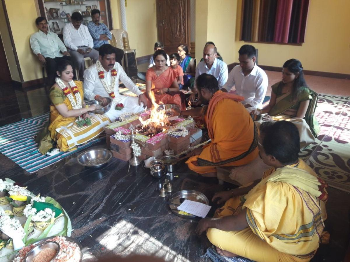 Political heirs set the ball rolling in Varuna