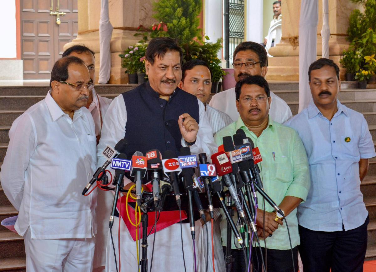 Senior Congress leader Prithviraj Chavan said the party will fight the upcoming assembly and Lok Sabha polls on Rafale and other issues of public interest. PTI File Photo