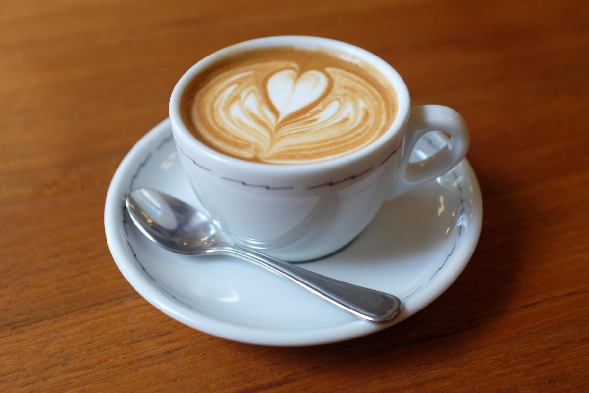 One cup of coffee has 94.8 mg of caffeine.