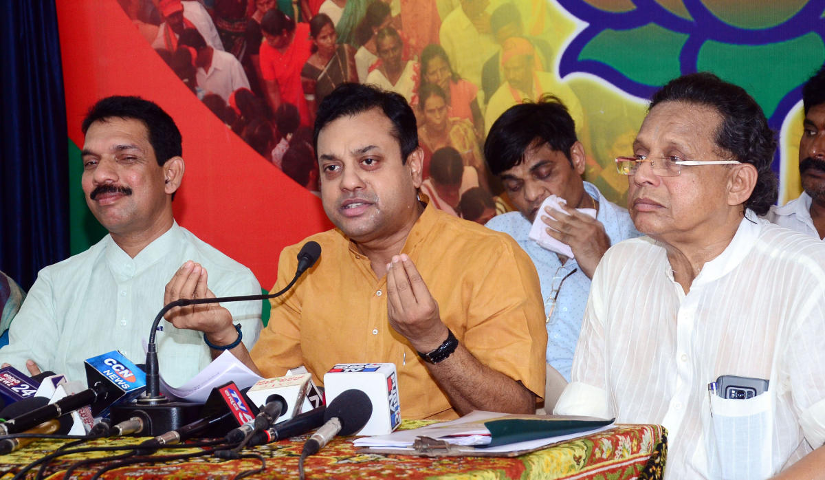 BJP National spokesperson Sambit Patra. (DH File Photo)