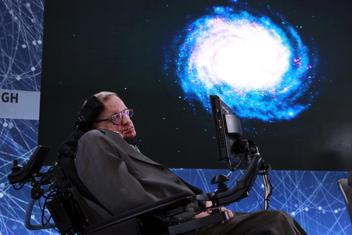 """According to co-author Malcolm Perry, a professor at Cambridge University, the information paradox was """"at the centre of Hawking's life"""" for over 40 years. (File Photo)"""