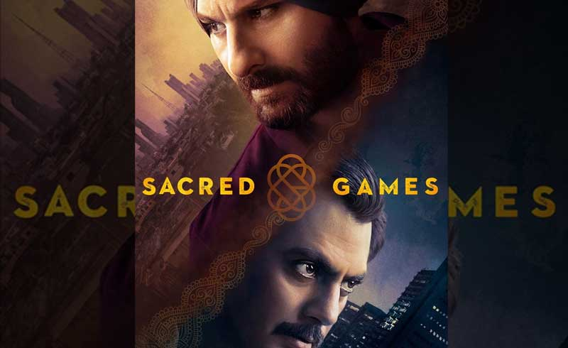 Poster of Sacred Games- Season 1.