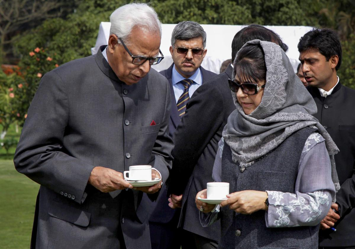 Following the resignation of Chief Minister Mehbooba Mufti, Governor N N Vohra had recommended imposition of Central rule in his report to President Ram Nath Kovind. (PTI file photo)