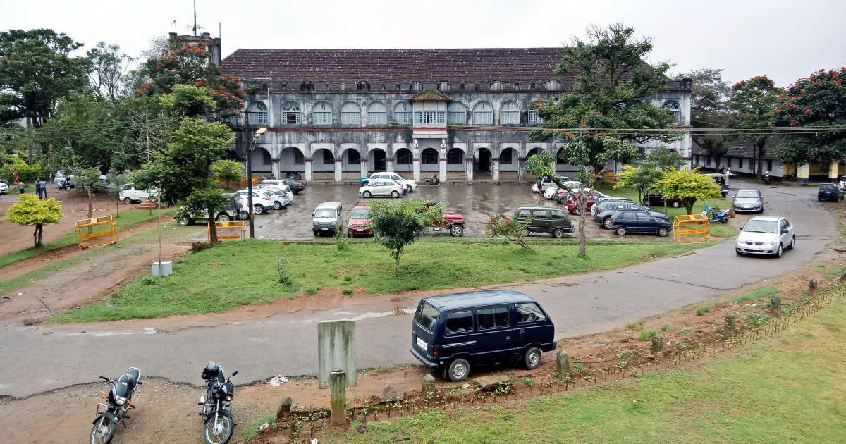A view of the Madikeri Fort.