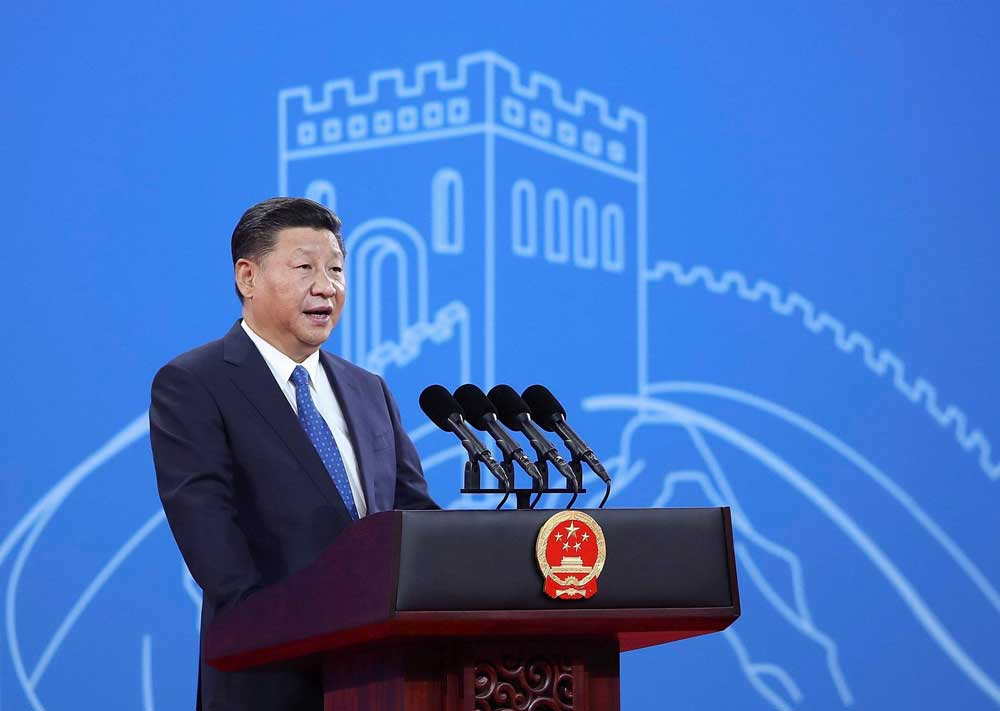 China launched the ambitious plan in 2013 under President Xi Jinping, seeking to link Asia, Europe and Africa with a network of ports, highways and railways. (AP/PTI file photo)