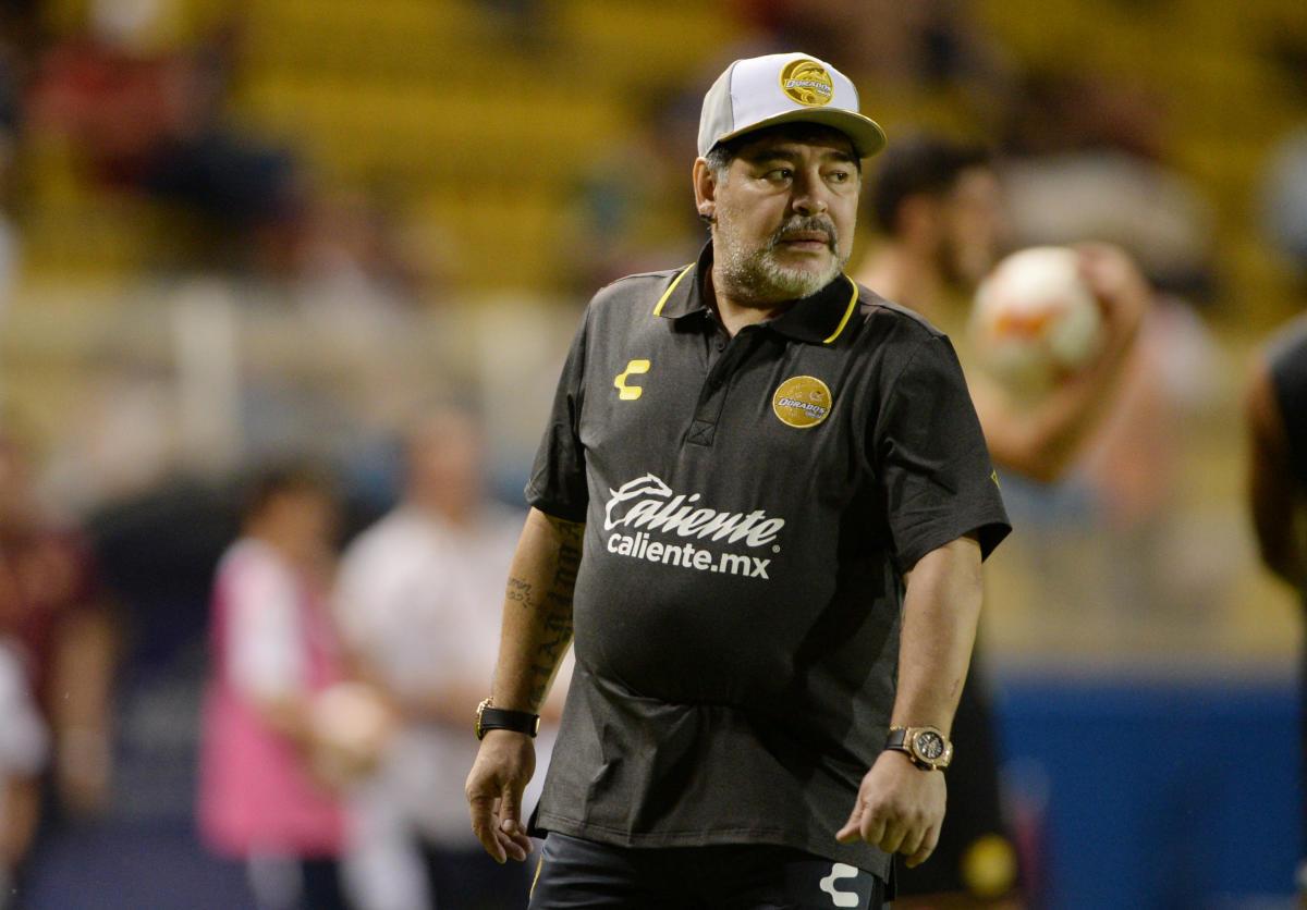 Diego Maradona. Reuters