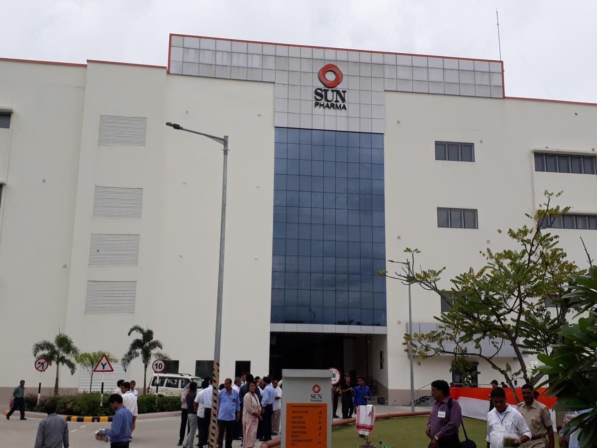 Sun Pharma plant at Palashbari, Guwahati. Photo by Manash Das