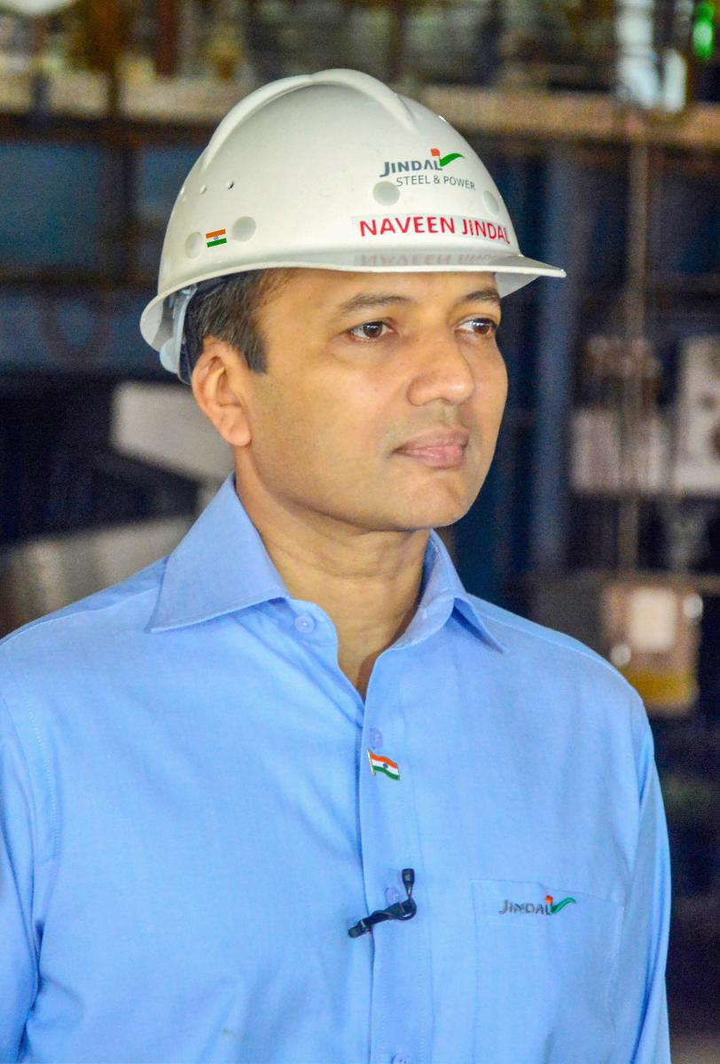 Chairman of Jindal Steel and Power Ltd (JSPL) Naveen Jindal. PTI file photo.