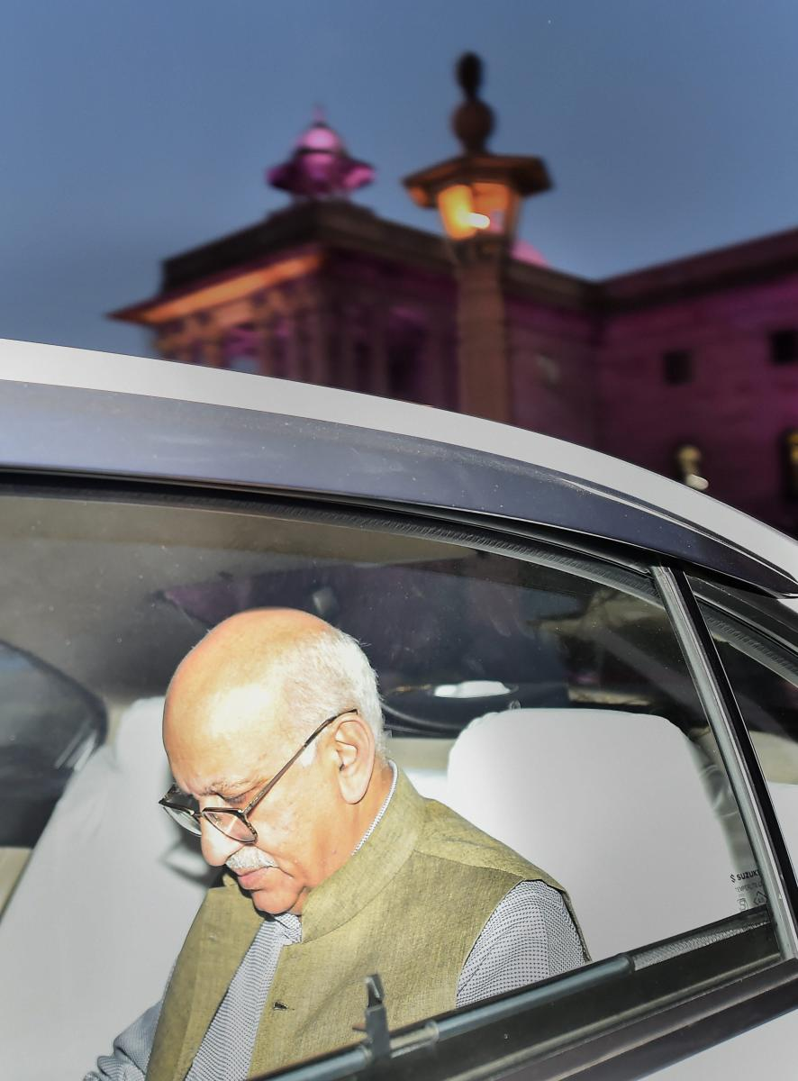 Union Minister M J Akbar filed a criminal defamation case against Priya Ramani in a Delhi court. Photo by PTI