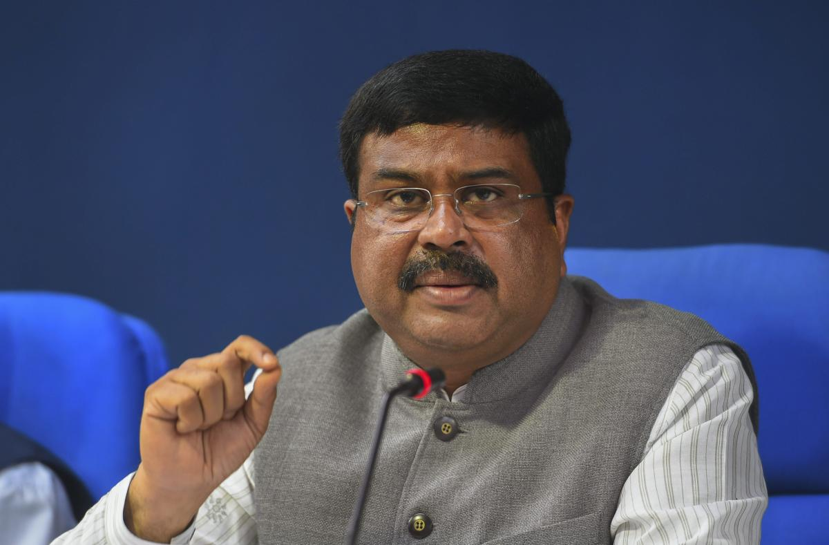 Petroleum and Natural Gas Minister Dharmendra Pradhan. PTI file photo