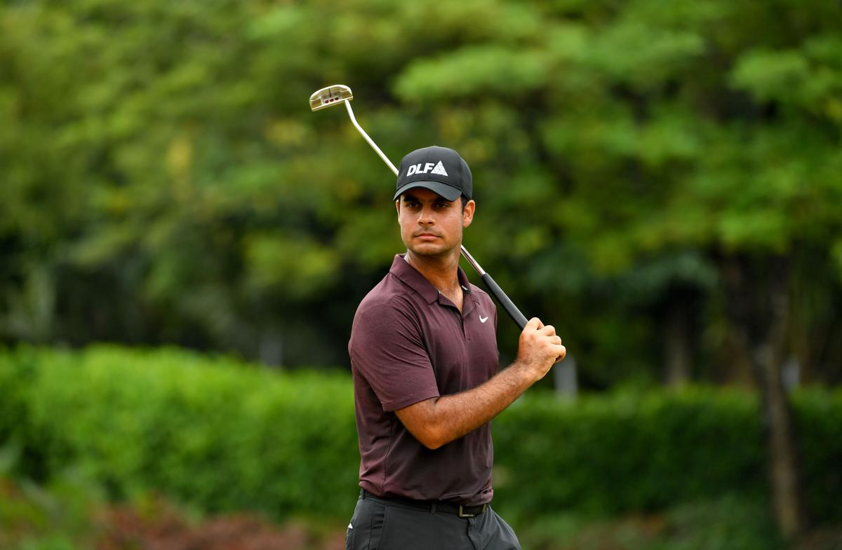 India's Shubhankar Sharma will continue his quest for a PGA Card. AFP File Photo