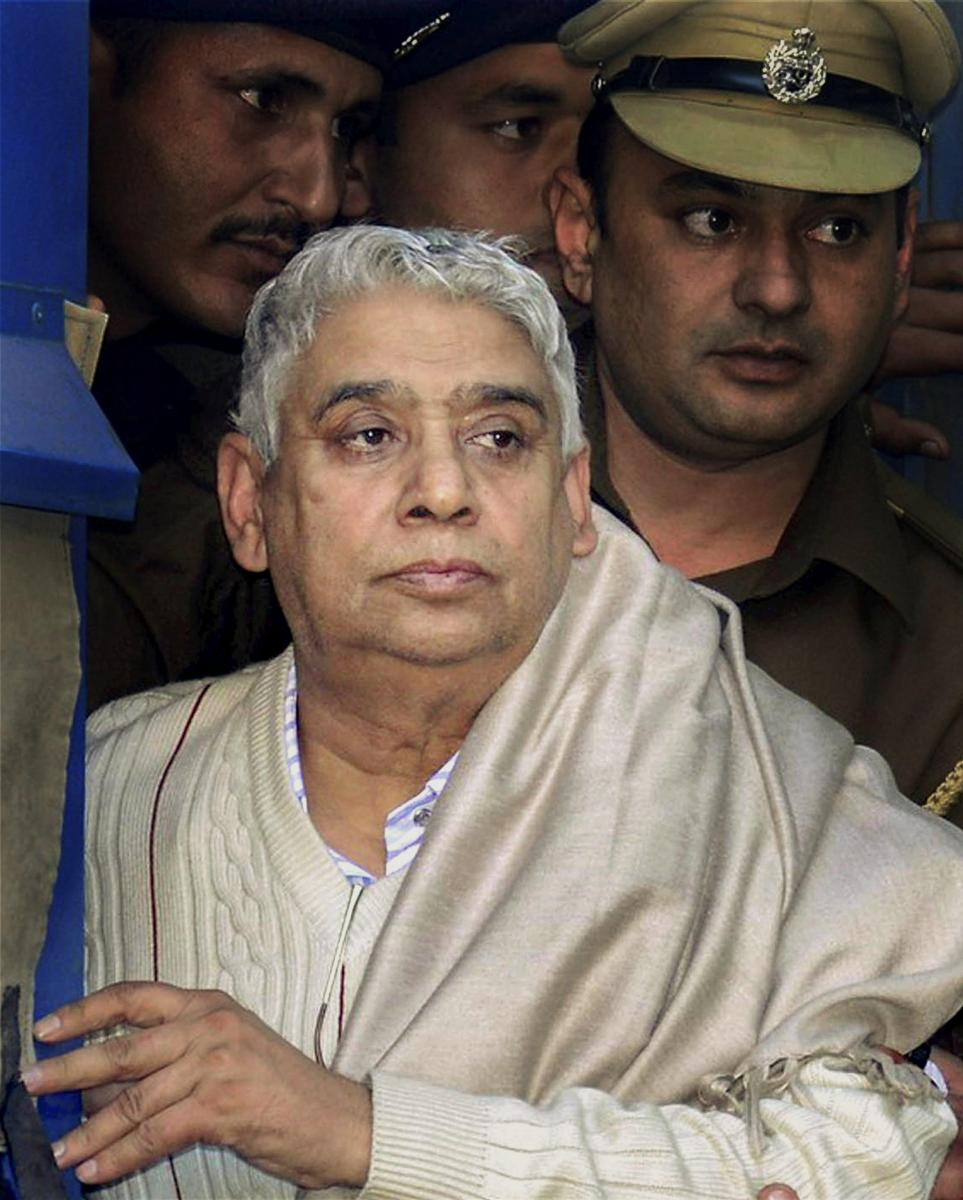 A Haryana court sentenced self-styled godman Rampal and his 13 followers to life imprisonment in a second case of murder on Wednesday. PTI Photo