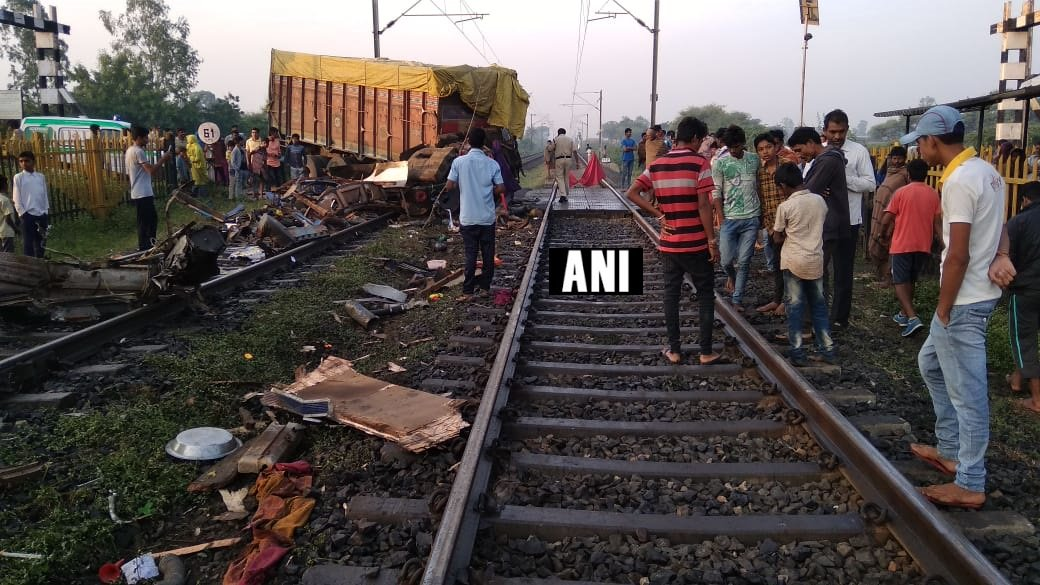 The scene of the accident. ANI photo.