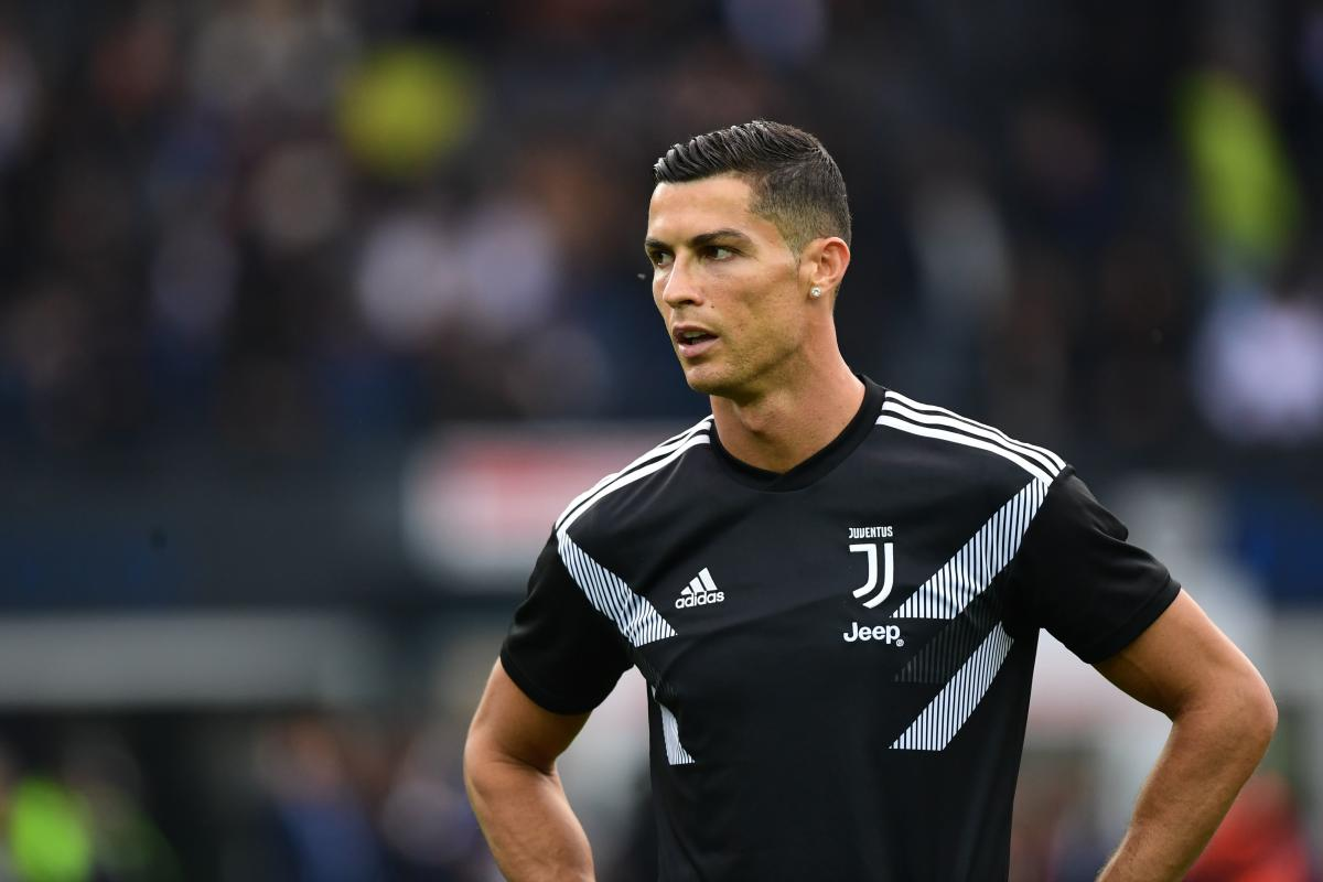 UNFLUSTERED: Despite being embroiled in a rape saga, Cristiano Ronaldo has been in terrific form for Juventus and the striker would be looking to extend that run this weekend. AFP