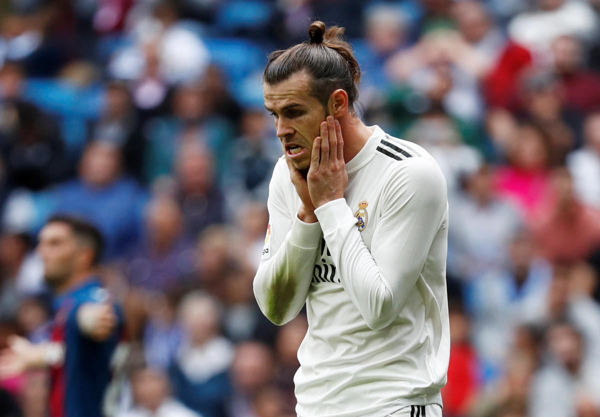 DISAPPOINTING: Real Madrid lost their third consecutive game against Levante in La Liga on Saturday. REUTERS
