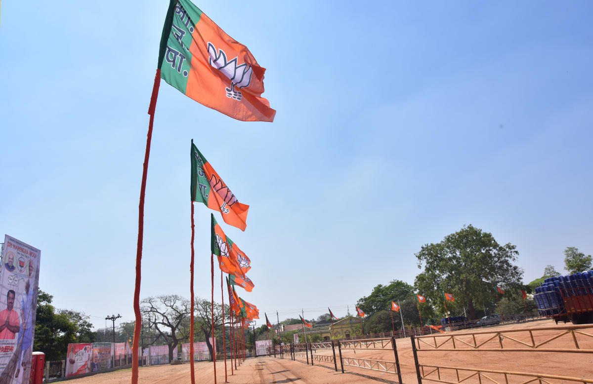 The saffron party would be roping in magicians to highlight the work done by it in the last 15 years and compare it with that of the previous Congress government. (DH File Photo)