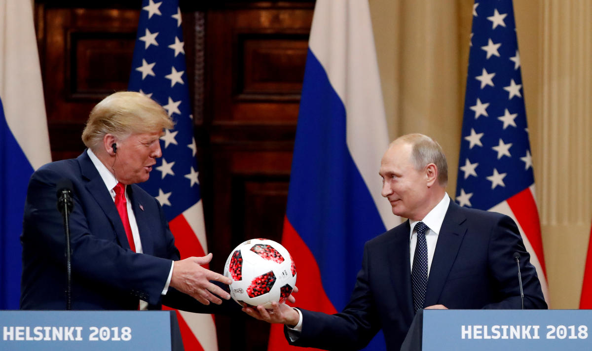 President Vladimir Putin (right, seen with US President Donald Trump) had repeatedly warned that the demise of the treaty would force Moscow to take specific military steps to protect its own security. Reuters File