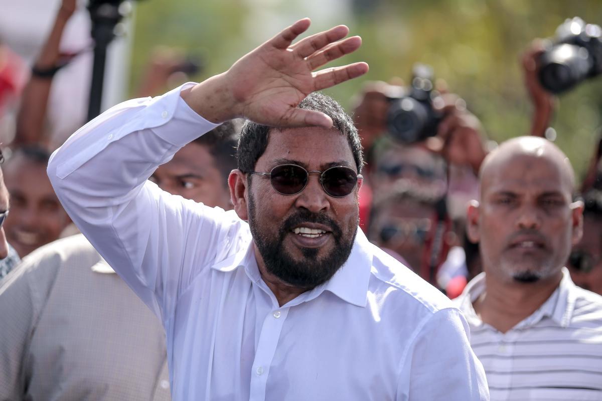 Jumhooree Party's founder Qasim Ibrahim. AFP File
