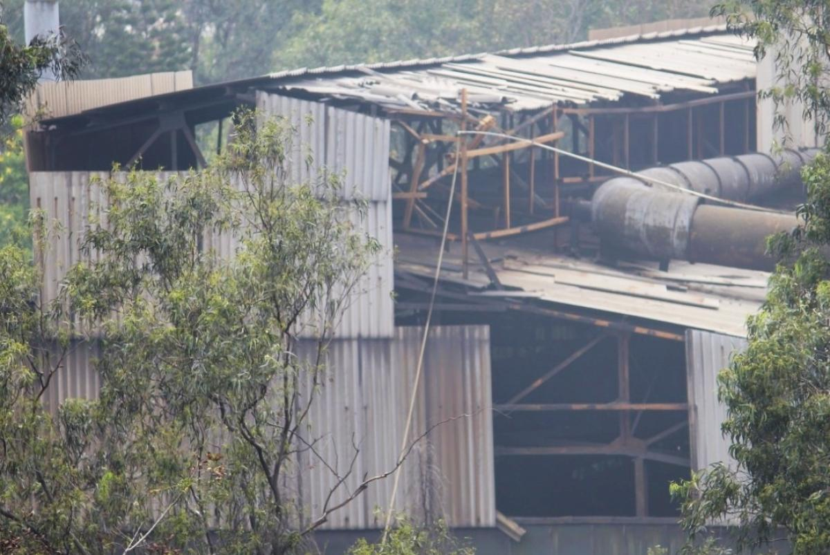 the cost of pollution: Residents of Whitefield have complained that the soot discharged by Graphite India factory polluted the air and took a toll on their health.