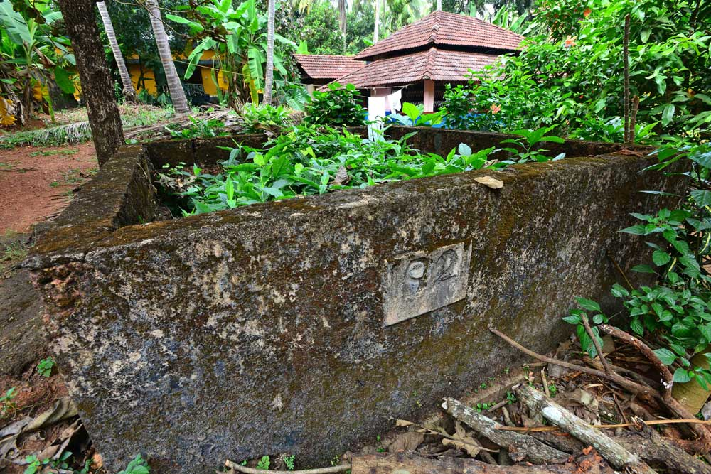 A mass grave in Adhikarathodi, Melmuri, where 11 bodies had been buried after the massacre. (Photo courtesy: Sameel)