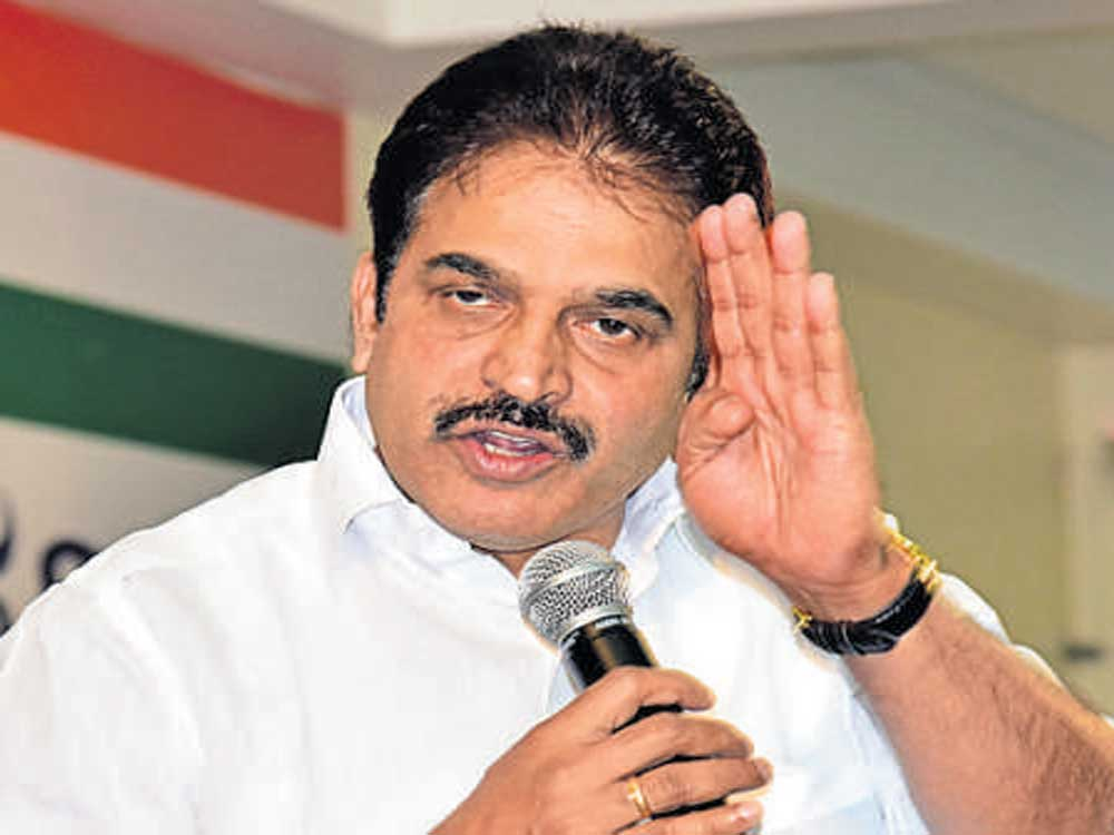 K C Venugopal. DH file photo.